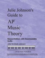 Julie Johnson's Guide to AP Music Theory Cover