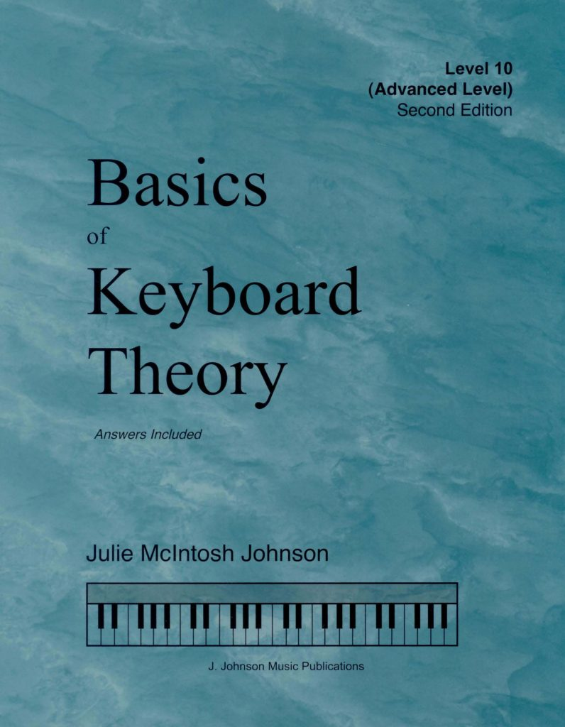 Basics of Keyboard Theory Level 10 Cover