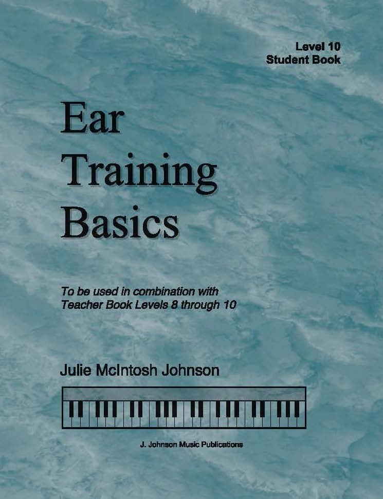 Ear Training Basics Level 10 Cover