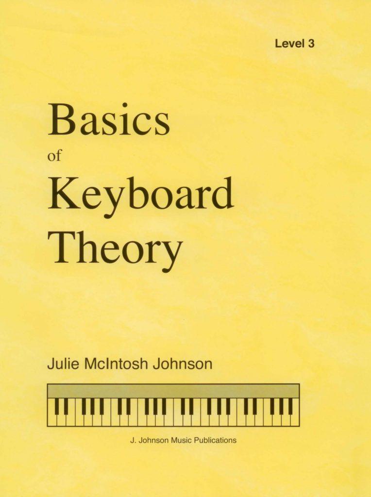 Basics of Keyboard Theory Level 3 Cover