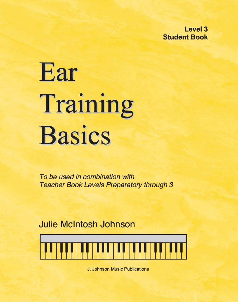 Ear Training Basics Level 3 Cover