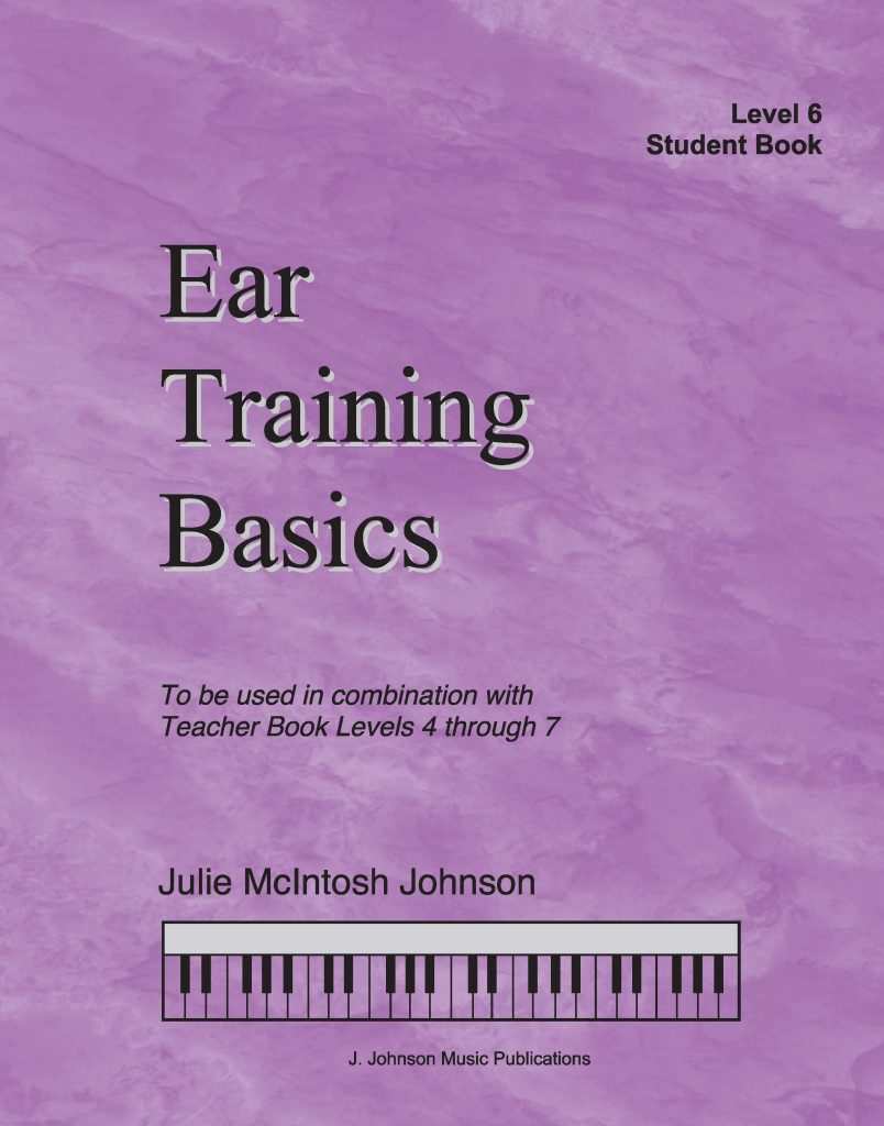 Ear Training Basics Level 6 Cover