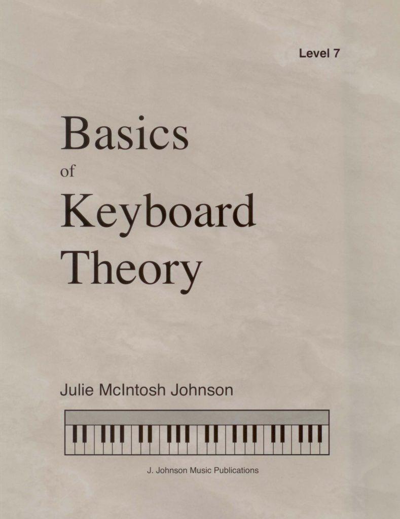 Basics of Keyboard Theory Level 7 Cover