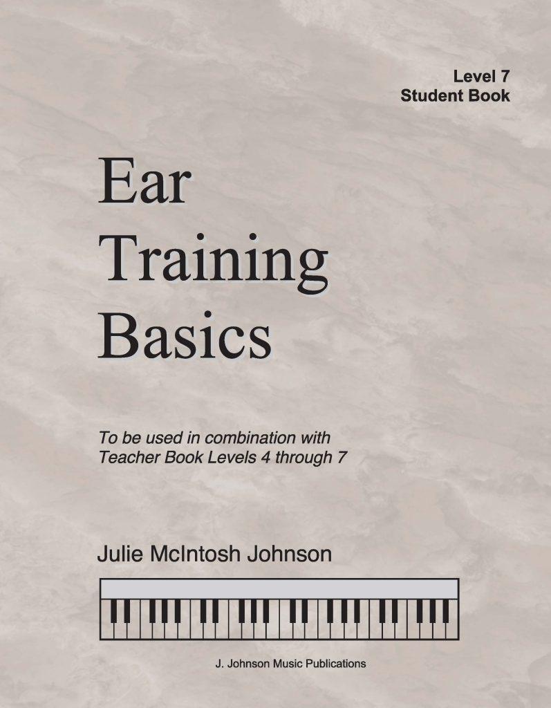 Ear Training Basics Level 7 Cover