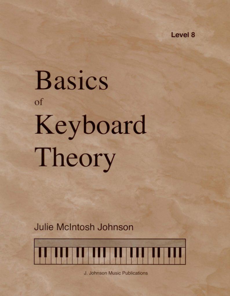 Basics of Keyboard Theory Level 8 Cover