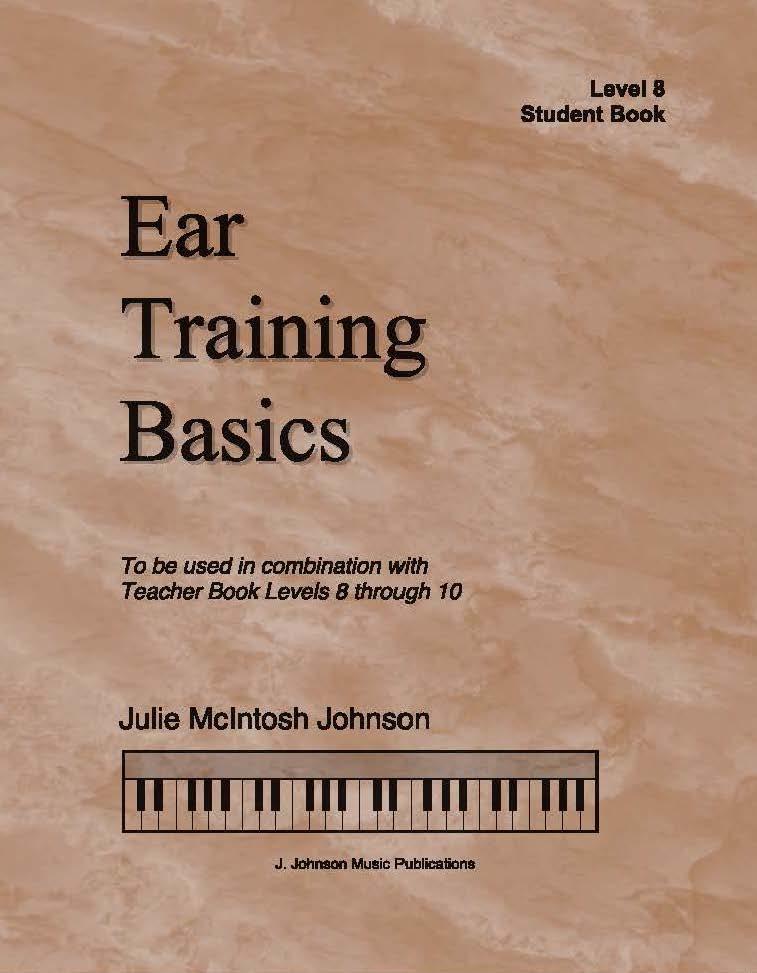 Ear Training Basics Level 8 Cover