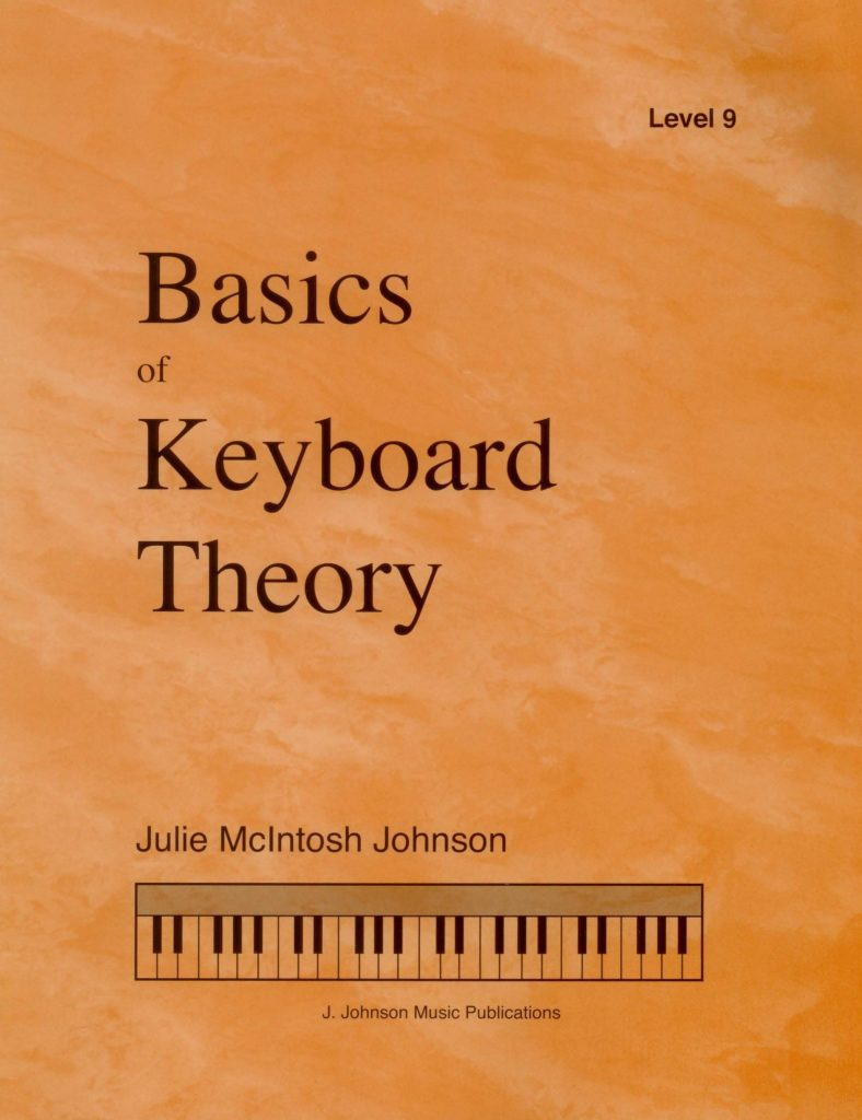 Basics of Keyboard Theory Level 9 Cover