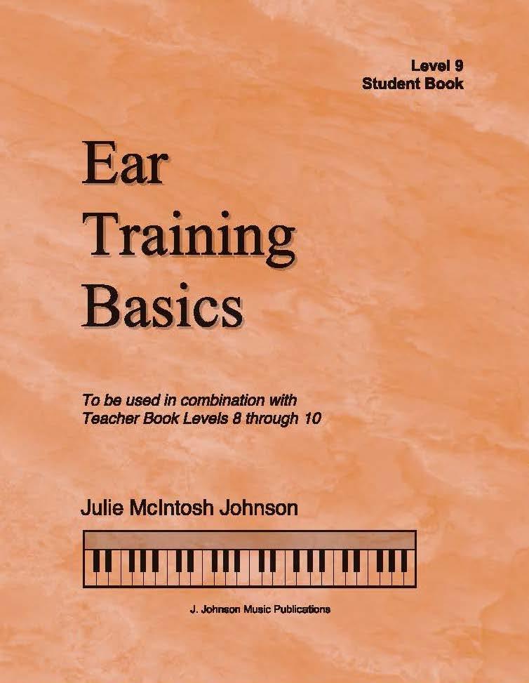 Ear Training Basics Level 9 Cover