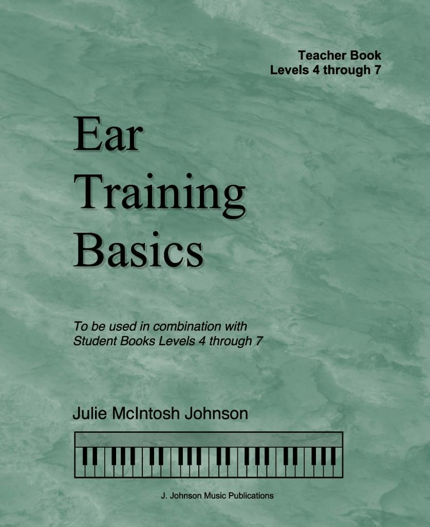 Ear Training Basics Teacher 4-7 Cover