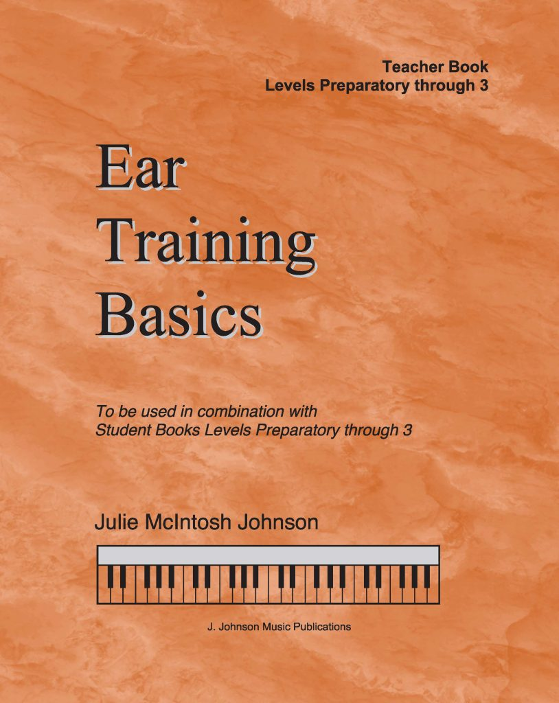 Ear Training Basics Teacher Prep-3 Cover